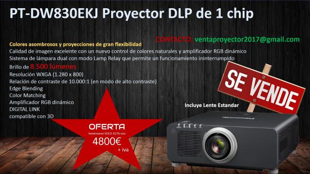SE vende proyector 8500 LUMENS
