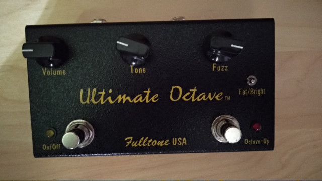 Fulltone ultimate octave fuzz