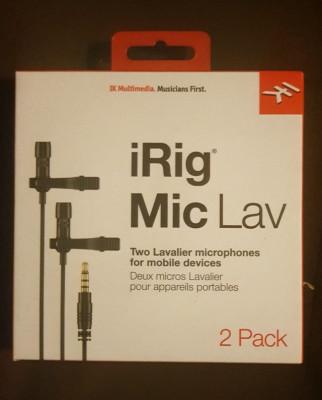 iRig Mic Lav  2 Pack, nuevo.