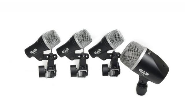 Micrófonos Percusión Pack CAD