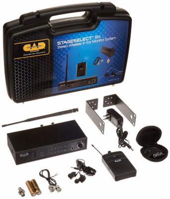 In Ear Sistema Inalámbrico UHF CAD