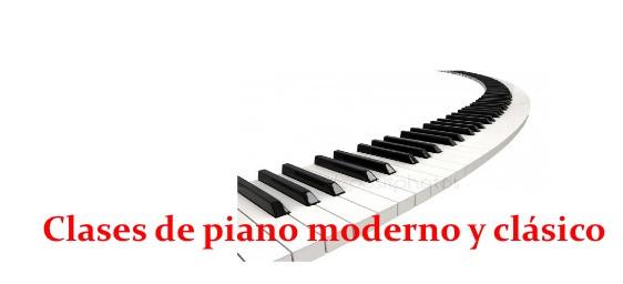 Clases de piano moderno y clásico. Armonía y lenguaje musical (tb online)