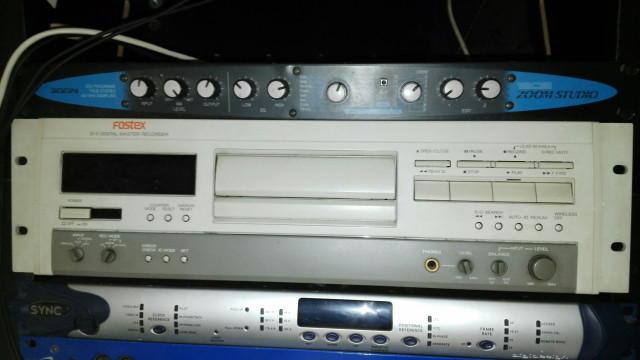 Fostex D-5 Digital Master Recording