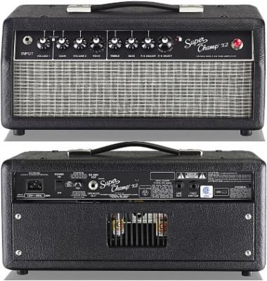 o Vendo: Cabezal Fender Super Champ X2 y Caja Eminence RWB