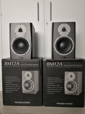 DYNAUDIO BM12A .Pareja de monitores activos de estudio