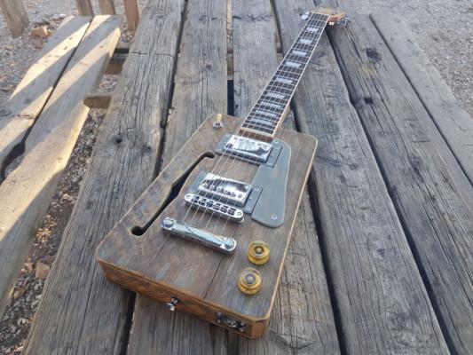 Cigar Box Guitar Vintage Tipo Gibson