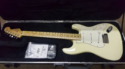 Fender american standard stratocaster 60th aniversario impecable.