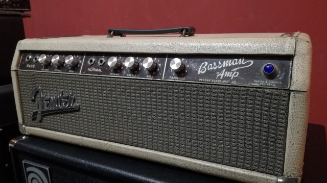 Fender Bassman '62 original (Ultimo Precio)
