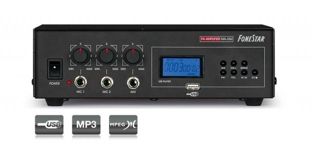 LIQUIDACIÓN TOTAL!!! >> Ampli. Rep. USB/MP3.