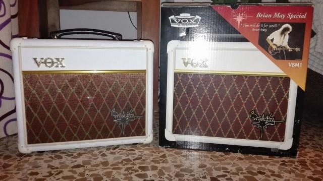 Amplificador Vox Brian May VBM1
