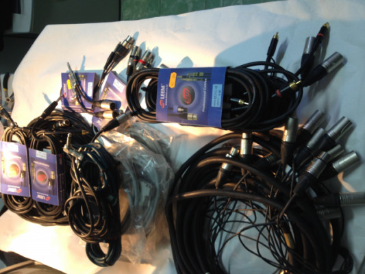 Lote de cables para directo