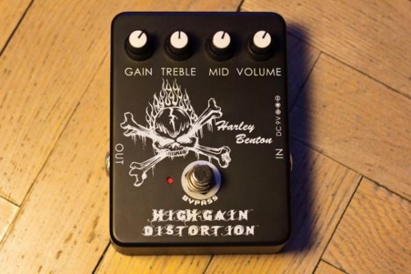 o vendo pedal harley benton high gain (joyo)