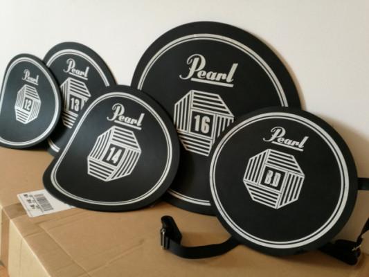 Pearl Rubber Pads, apagadores de goma