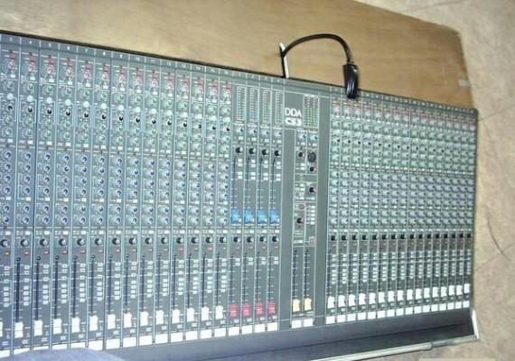 Mesa DDA CS3 de 32 canales o cambio
