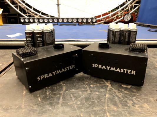 Maquinas de fuego real SPRAYMASTER(ALEMANAS)