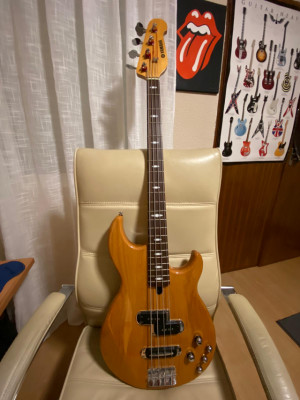 BAJO YAMAHA BB614 YN (YELLOW NATURAL)