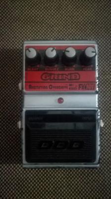 Pedal de Guitarra Overdrive DOD Grind Fx 101 USA