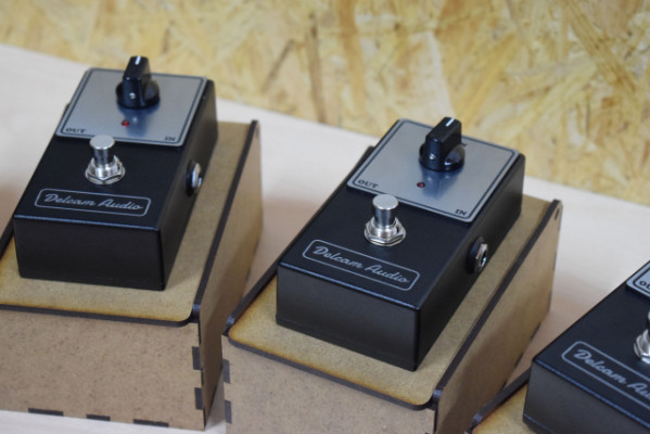 Pedal Delcam Audio MOS110 Booster