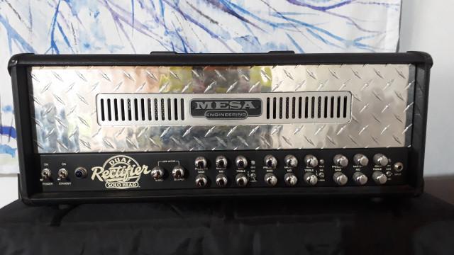 Mesa Boogie Dual Rectifier con su pantalla y pedalera (REBAJA TEMPORAL)