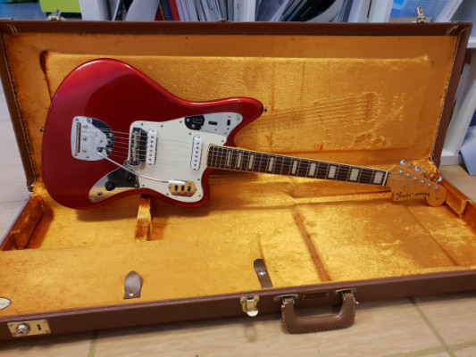 Fender Jaguar MIJ Block Inlays Candy Apple Red ¡¡Rebaja!!!