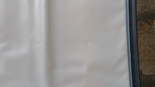 Pantalla de retro-proyección nueva