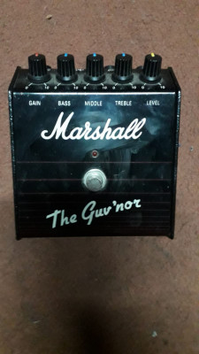 Marshall Guvnor Vintage pedal made in England