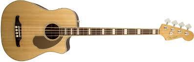 Bajo acùstico Fender Kingman Bass