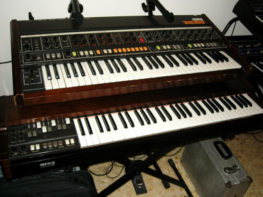 Cambio teclado Korg CX3