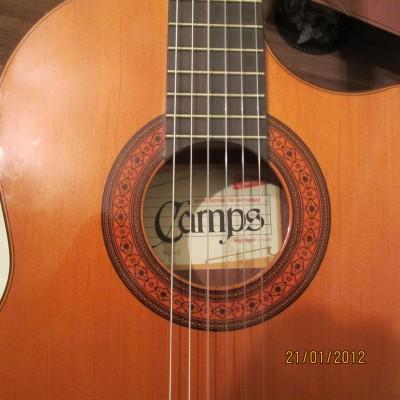 Vendo guitarra camps away escotada nac 2 electro acustica for Guitarras barcelona