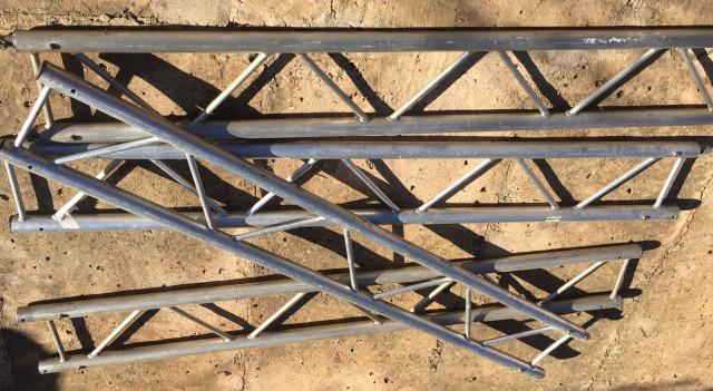Truss Estructura paralela aluminio 4 Uds. de 2 Mts. Por lote a 45