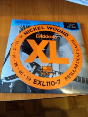 Daddario EXL110-7 juego guitarra 7 cuerdas Nuevo (envío incluido)