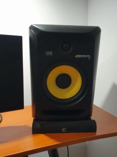 Vendo 2 monitores activos KRK RP8 g3 impecables!