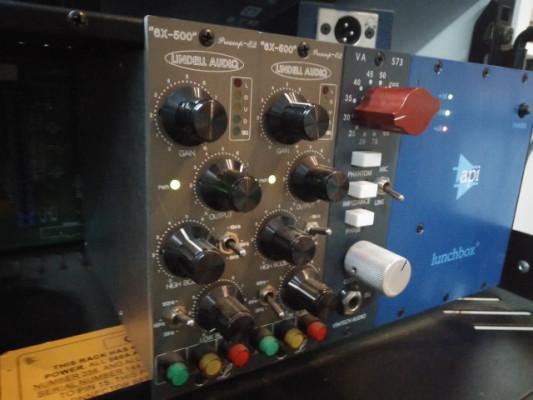 REBAJADO!! vintech audio 573, 2x lindell 6x500 , API  lunchbox 6B