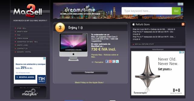 Vendo iMac 24 pulgadas