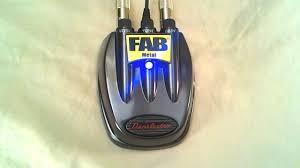 Danelectro FAB Metal Guitar Pedal  D-3