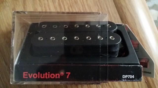EVOLUTION DIMARZIO 7 CUERDAS DP704