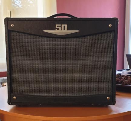 Amplificador de válvulas Crate V50 con pedal VSFS-2