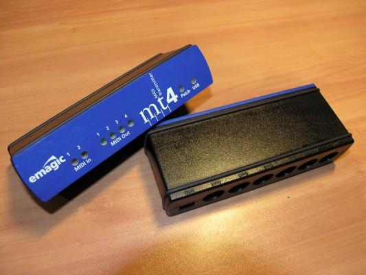 Interface MIDI USB Emagic MT4