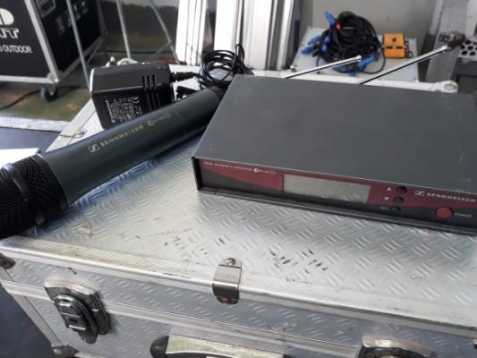Sennheiser EW 100 G2+Mano capsula E-835 Rango D