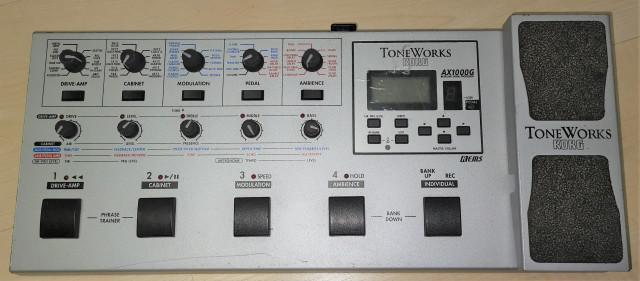 Multiefectos KORG ToneWork AX1000G