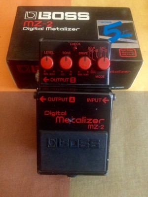 Digital Metalizer MZ-2, BOSS Japan. NO CAMBIOS