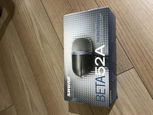 Microfono bombo batería Shure BETA 52A