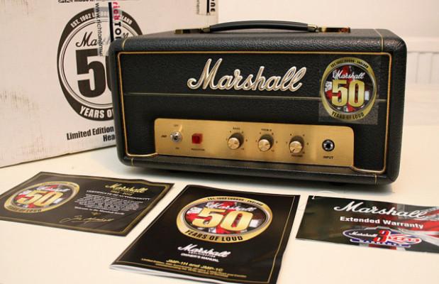 Cabezal Marshall JMP-1H 50th Anniversary