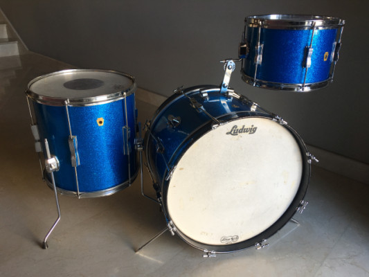 Ludwig Club Date Blue Sparkle 1967