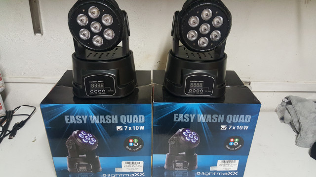 2 Cabezas moviles 70W lightmax