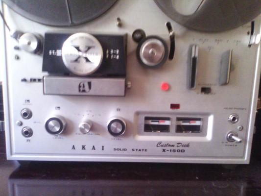 "Akai X-150D Magnetofón 1/4"" para arreglar"