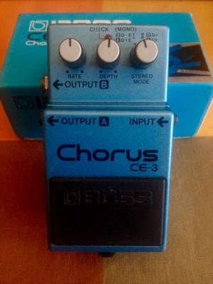 Chorus CE-3, BOSS. NO CAMBIOS