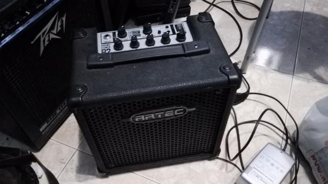 Amplificador portatil para bajo