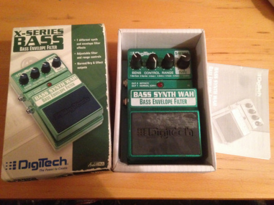 Digitech Bass Synth Wah