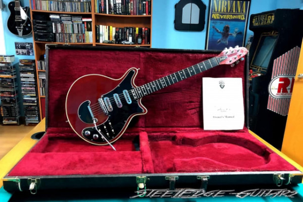 Guild BM01 Brian May Red Special 1993 USA Limited Edition. - VENDIDA!!!